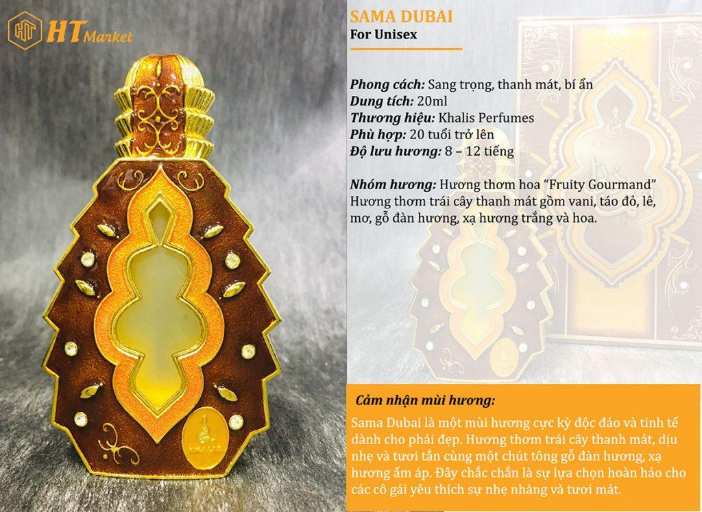 Tinh dầu nước hoa dubai Sama Dubai