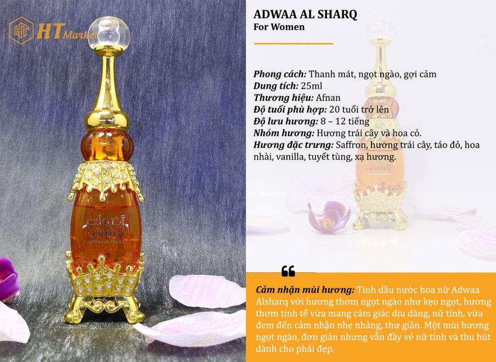 Tinh dầu nước hoa dubai Adwaa