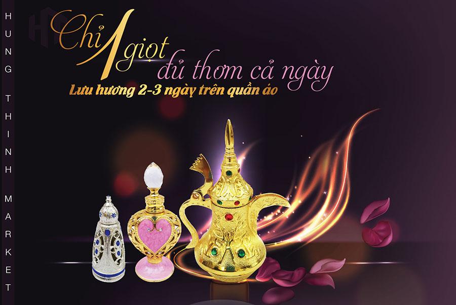 Tinh dầu nước hoa Dubai dành cho nam