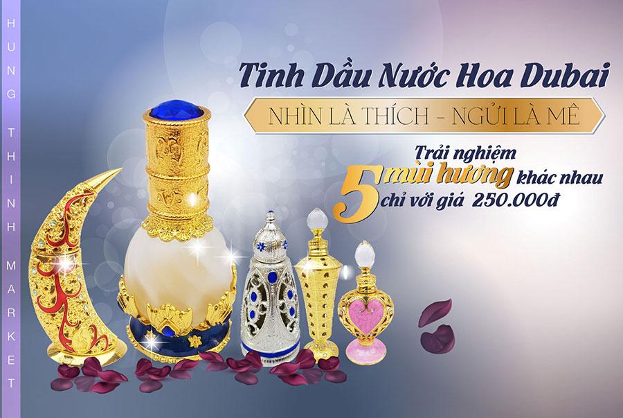 Tinh dầu nước hoa Dubai giá rẻ nhất Việt Nam