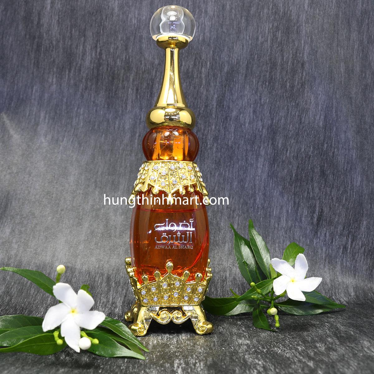 tinh dầu nước hoa dubai adwaa sang trong