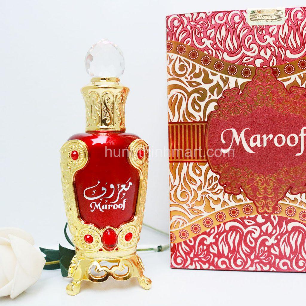 TInh dầu nước hoa Dubai Maroof