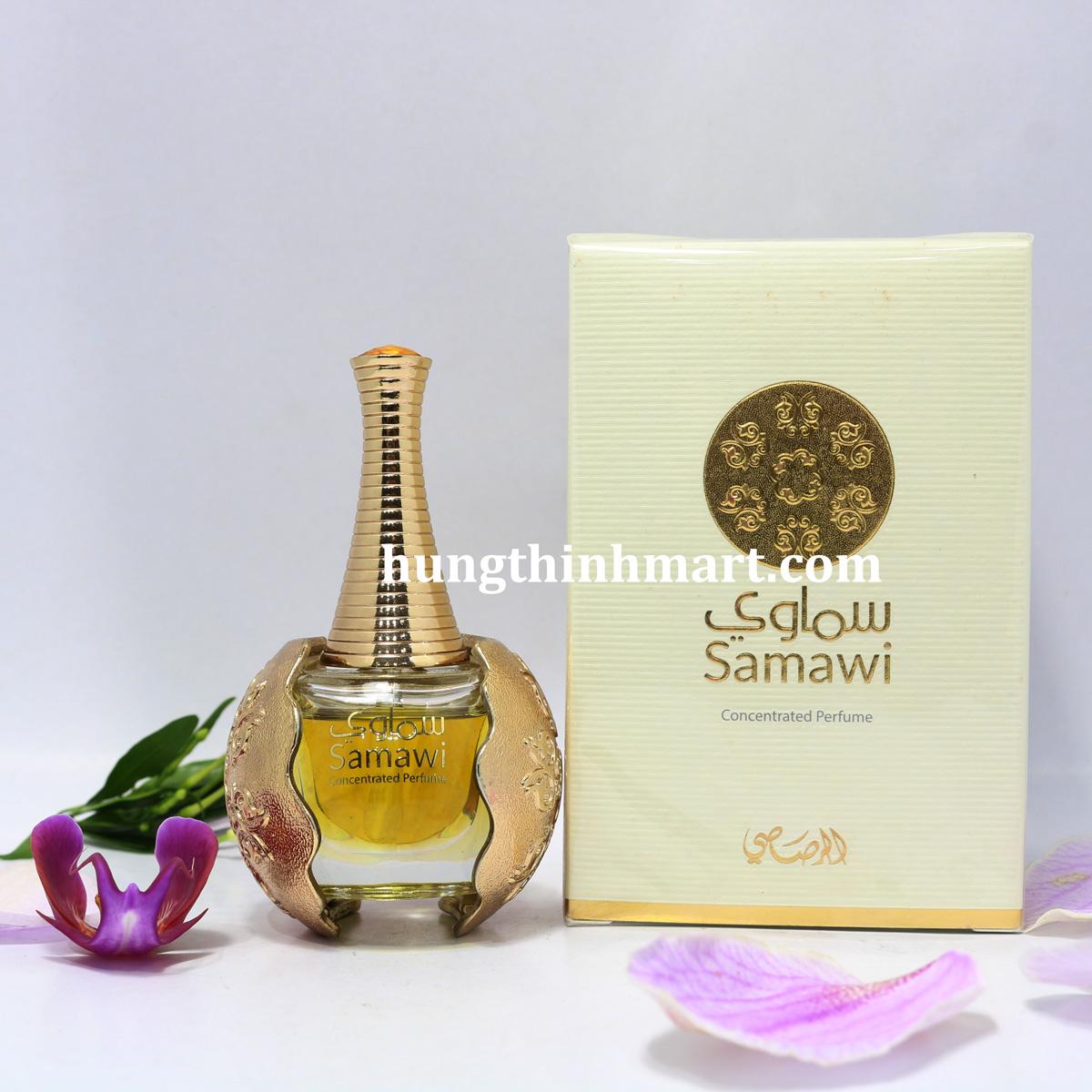 Tinh dầu nước hoa Dubai Samawi thơm dai