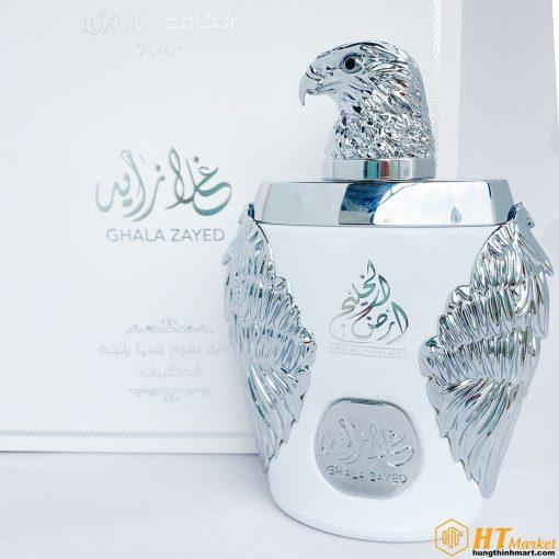 Nuoc hoa Dubai Ghala Zayed Luxury White