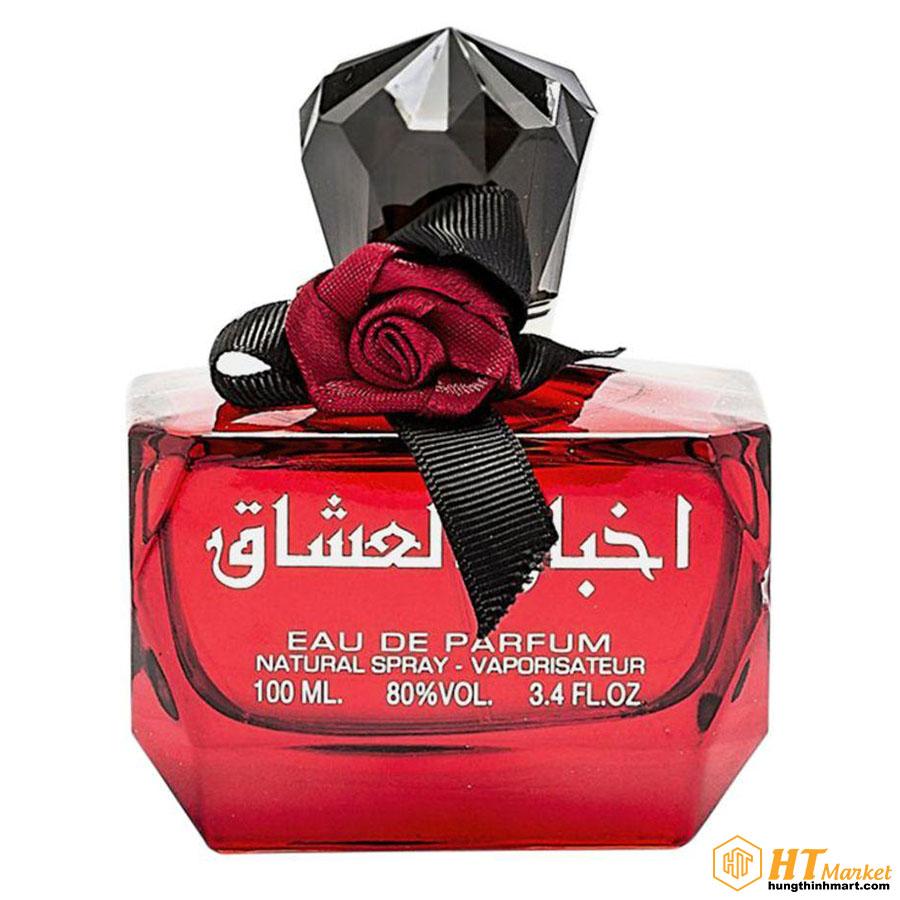 Nước hoa Dubai Akhbar Al Ushaq EDP Ngọt Ngào Nữ Tính 100ml HT Market