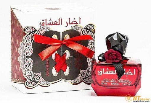Nước hoa Akhbar Al Ushaq mùi hương nữ tính