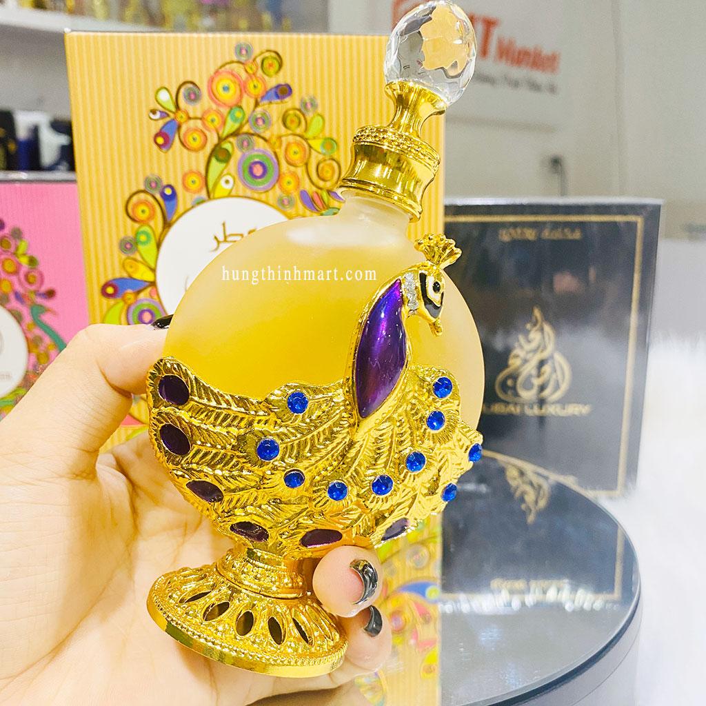 Tinh dầu nước hoa Dubai Attar Dhahabi sang trọng