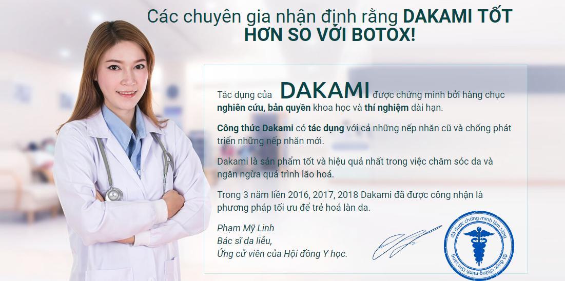 Kem Dakami là gì? Dùng có tốt không
