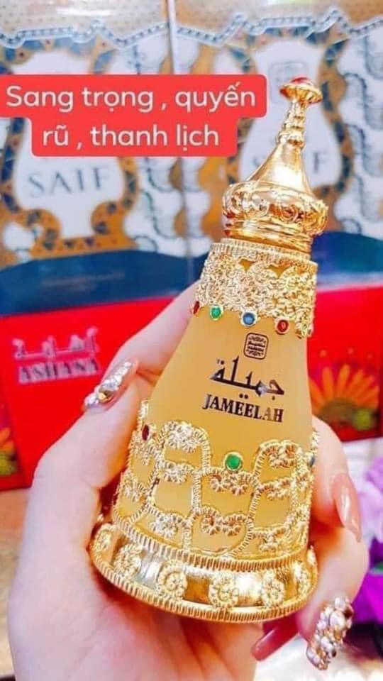 Tinh đầu nước hoa Dubai Jameelah sang trọng