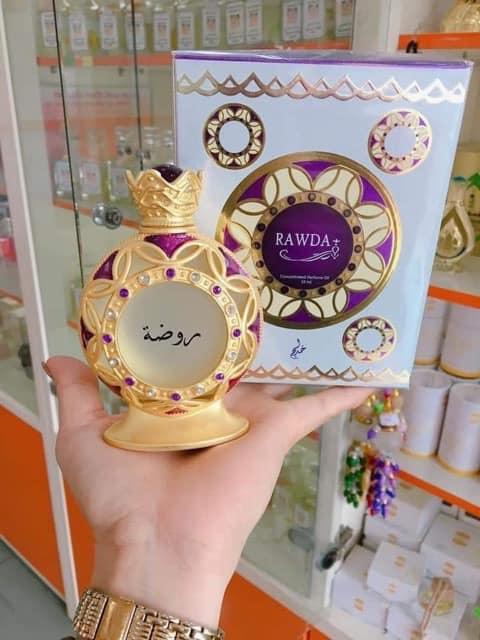Tinh dầu nước hoa Dubai Rawda nữ tính